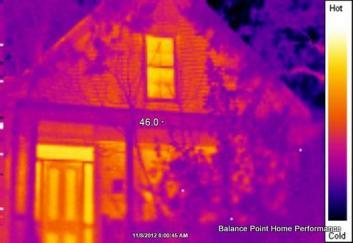 IR imaging helps us find exactly where you home could be leaking valuable heating and cooling dollars